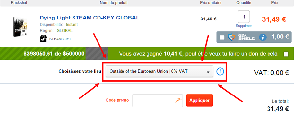 adresse-hors-Union-Européenne-TVA- instant-gaming